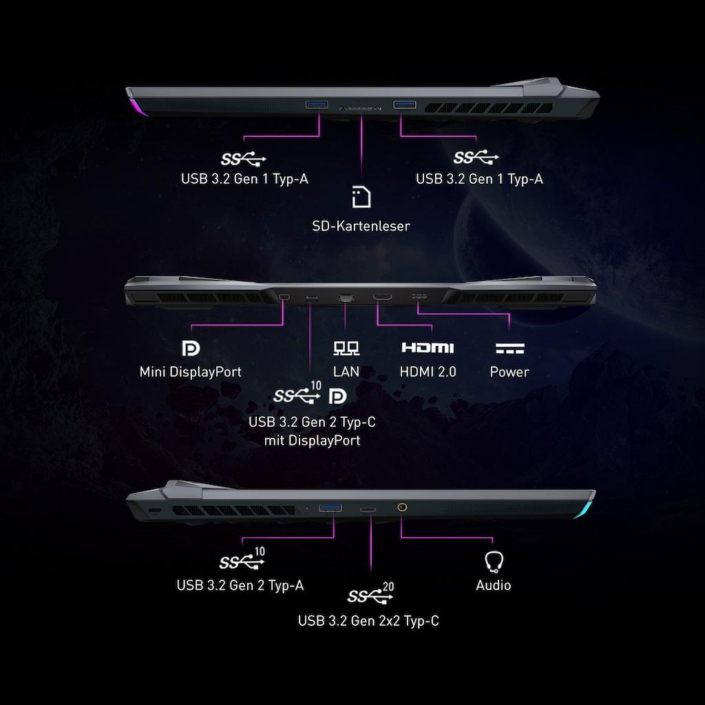 MSI Notebook »GE76 Raider 10UH-288«, ( 2000 GB SSD)