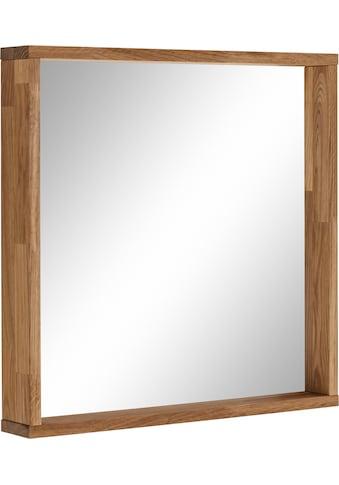 OTTO products Wandspiegel »Onnika«, Rahmen aus FSC-zertifiziertem Massivholz Eiche,... kaufen