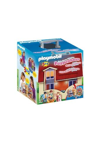 Playmobil® Konstruktions-Spielset »Neues Mitnehm-Puppenhaus (5167), Dollhouse«, Made... kaufen