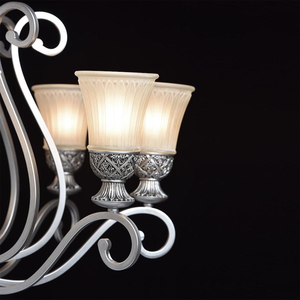 CHIARO Kronleuchter »Bologna«, E27, 1 St., Hängeleuchte, Pendellampe, Pendelleuchte