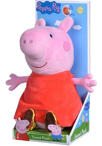 SIMBA Kuscheltier »Peppa Pig, Peppa, 22 cm«, mit Sound kaufen