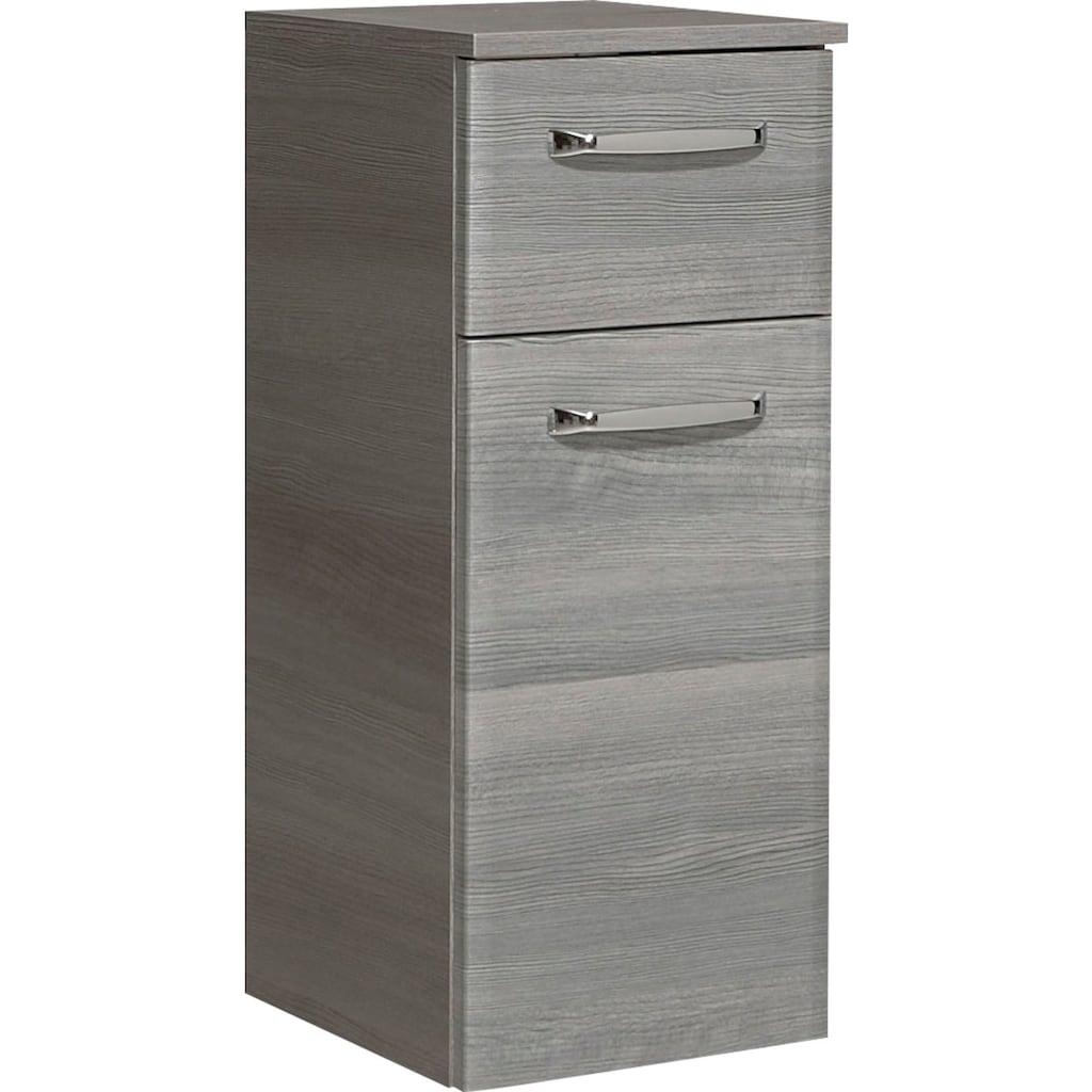 PELIPAL Unterschrank »Quickset 328«, Breite 30 cm, Metallgriffe, Türdämpfer, Glaseinlegeböden