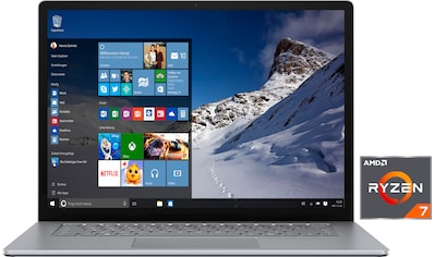 "Microsoft Notebook »Surface Laptop 4«, (38,1 cm/15 "" AMD Ryzen 7 Microsoft Surface®... kaufen"