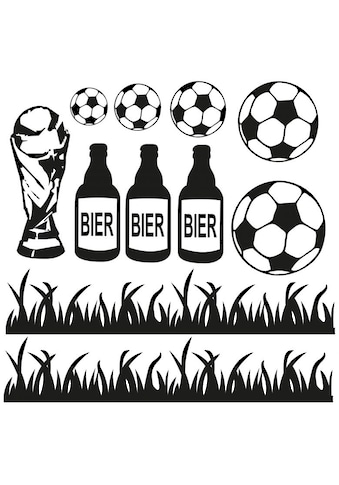 Wall-Art Wandtattoo »Fußball Fußballset« kaufen