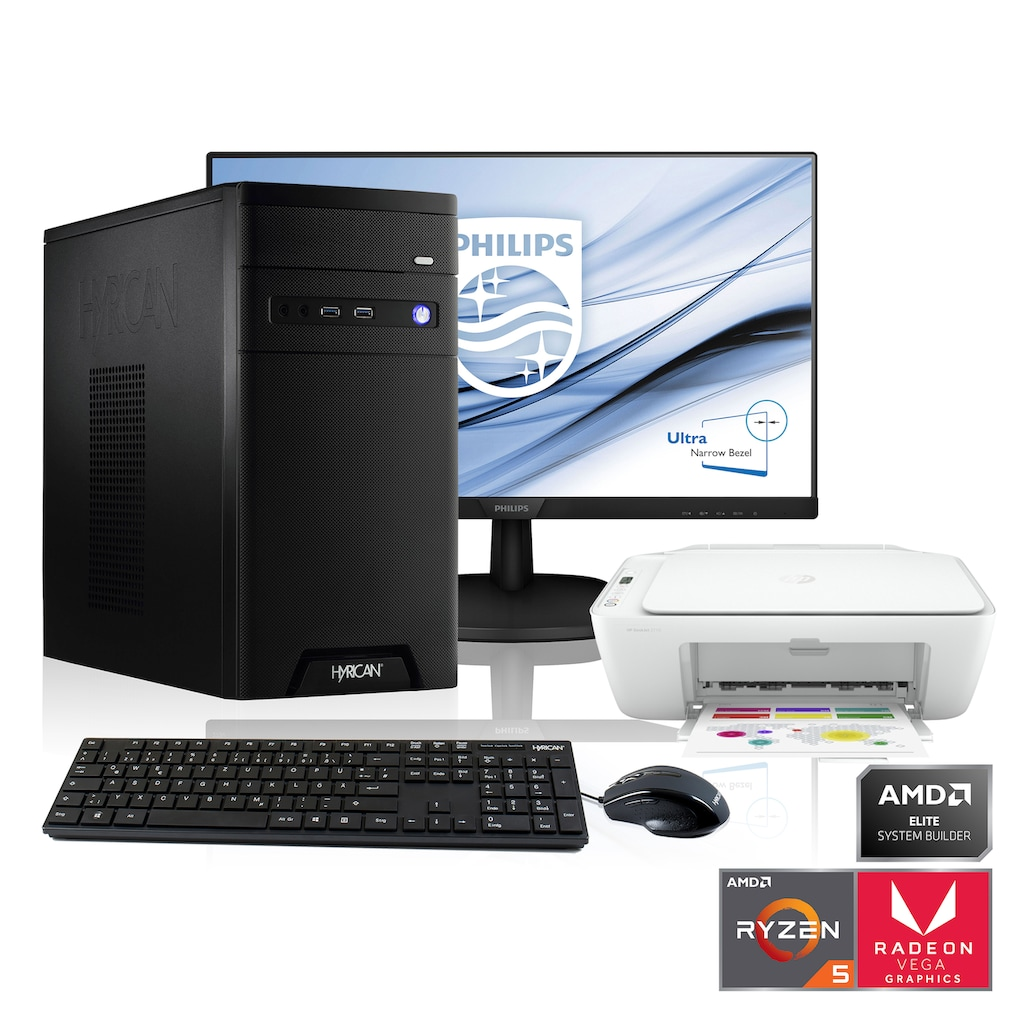 Hyrican PC-Komplettsystem »Home-Office SET1897«