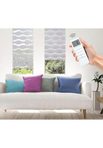 Good Life Elektrisches Rollo »Wave - SMART HOME«, Lichtschutz, ohne Bohren, mit... kaufen