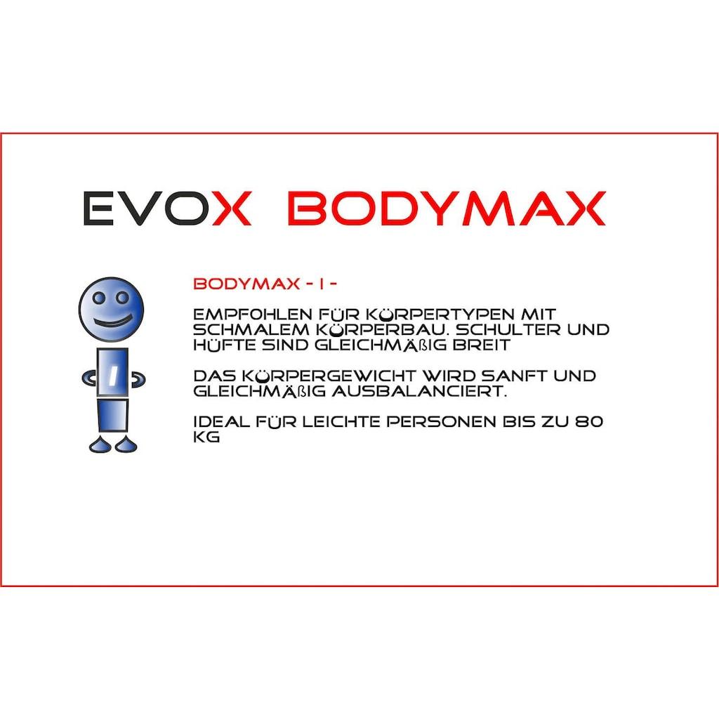 Breckle Gelschaummatratze »EVOX Bodymax I«, 24 cm cm hoch, Raumgewicht: 50 kg/m³, (1 St.), empfohlen für Körpertypen mit schmalem Körperbau -Schulter und Hüfte sind gleichmäßig breit