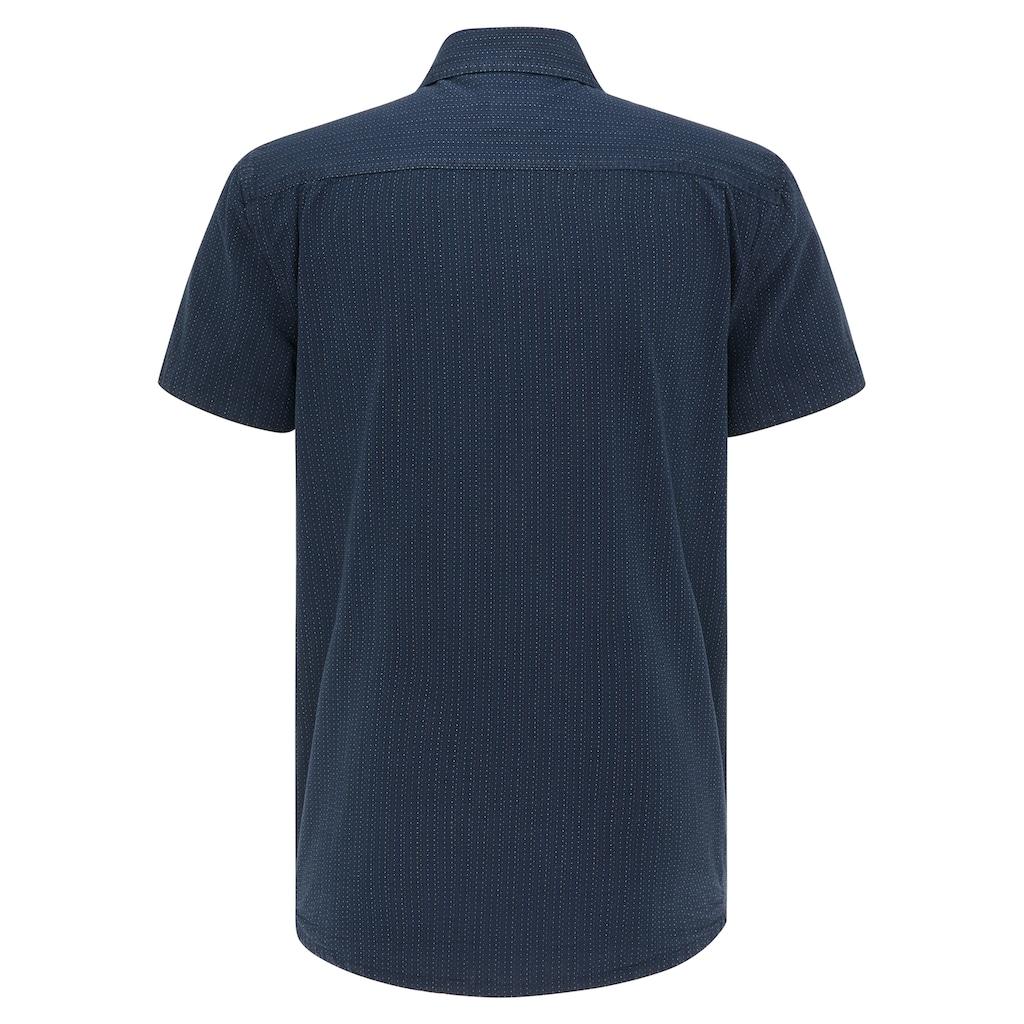 MUSTANG Kurzarmhemd »Chris Multi Dobby«