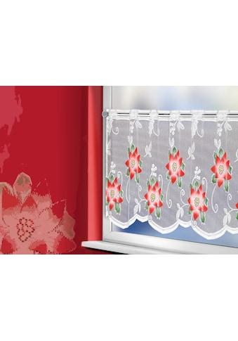 WILLKOMMEN ZUHAUSE by ALBANI GROUP Panneaux »Weihnachtsstern«, Jacquard-Panneaux,... kaufen
