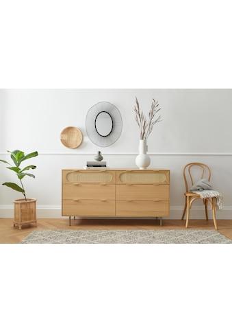 andas Kommode »Liselle«, Design by Morten Georgsen, mit Wiener Geflecht kaufen