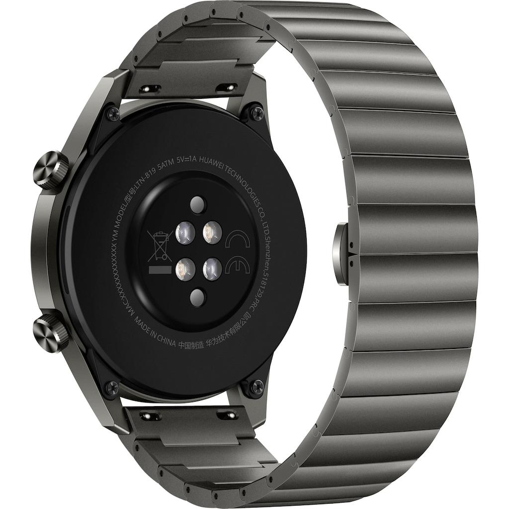 Huawei Smartwatch »Watch GT 2 Elite«, (RTOS 24 Monate Herstellergarantie)