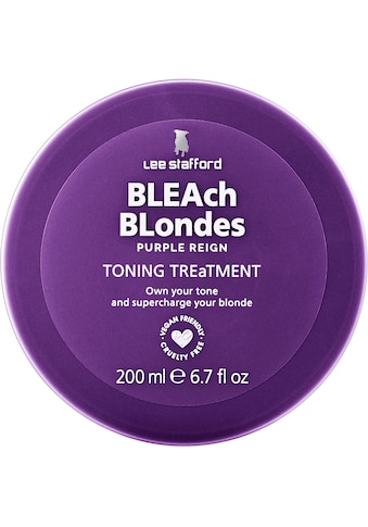 Lee Stafford Haarspülung »Bleach Blonde Purple Reign Treatment« kaufen