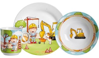 Ritzenhoff & Breker Kindergeschirr-Set »Bauarbeiter«, (Set, 3 tlg.) kaufen