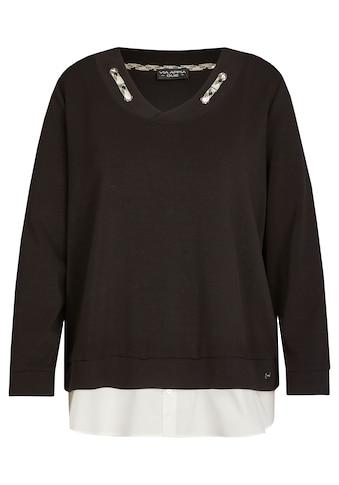 VIA APPIA DUE Sweater, mit Bluseneinsatz kaufen