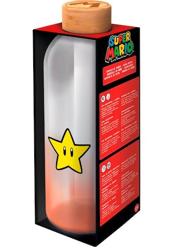 Trinkflasche »Super Mario Glasflasche Stern (1030 ml)« kaufen