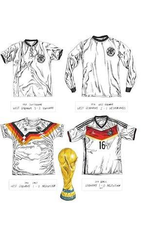 Wall-Art Wandtattoo »Fußball Trikots Deutschland« kaufen