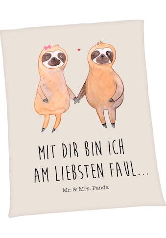 Wohndecke »Well - Soft - Decke Mr. & Mrs. Panda«, kaufen
