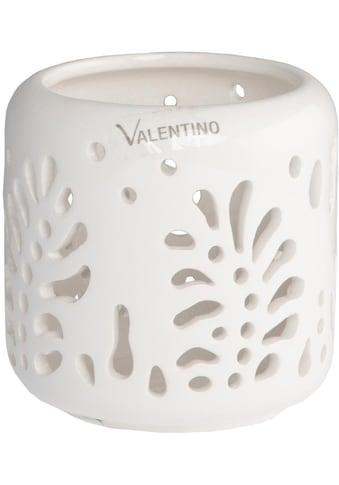 VALENTINO Wohnideen Kerzenhalter »Denali«, mit Blattstruktur kaufen