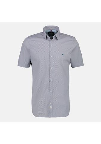 LERROS Kurzarmhemd »Minimalprint«, mit Stretchanteil kaufen