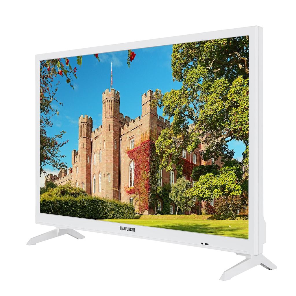 "Telefunken LED-Fernseher »XH24J101D-W«, 60 cm/24 "", HD ready"