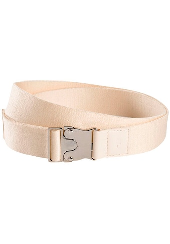 TOM TAILOR Stoffgürtel, Mit Lederbesatz und Logo-Prägung kaufen