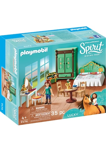 Playmobil® Konstruktions-Spielset »Luckys Schlafzimmer (9476), Spirit Riding Free«,... kaufen
