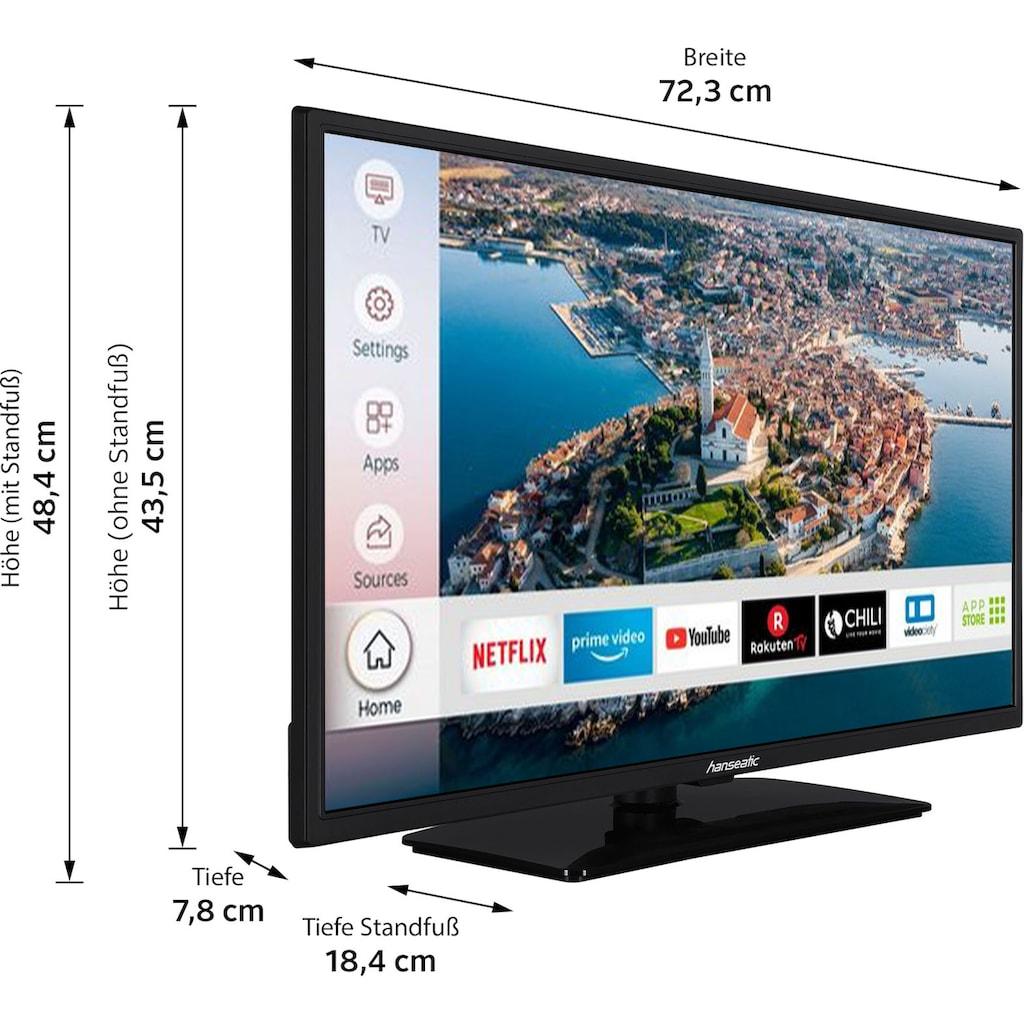 """Hanseatic LED-Fernseher »32H500FDSII«, 80 cm/32 """", Full HD, Smart-TV"""