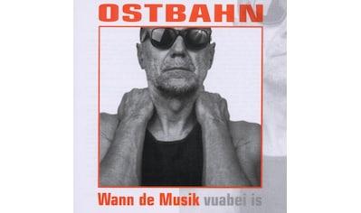 Musik-CD »Wann De Musik (Frisch Gema / Ostbahn,Kurt« kaufen