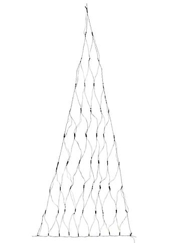 Home affaire LED-Lichternetz »Varennes«, in Dreieckform, inkl. 3 Saugnäpfe und Bänder... kaufen