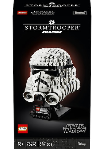 """LEGO® Konstruktionsspielsteine """"Stormtrooper™ Helm (75276), LEGO® Star Wars™"""", Kunststoff, (647 - tlg.) kaufen"""