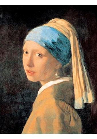 DELAVITA Kunstdruck »VERMEER / Mädchen mit einem Perlenohrring«, (1 St.) kaufen