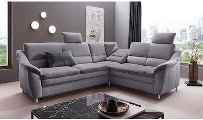 Places of Style Ecksofa »Cardoso«, Federkern, wahlweise mit Bett, Schubkasten, teilweise Relaxfunktion kaufen