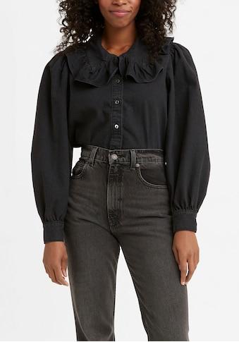Levi's® Hemdbluse »EMILIE BLOUSE«, mit Volant am Kragen kaufen