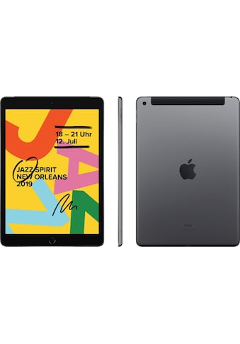 10.2 iPad Wi - Fi Cellular 32GB (2019) Tablet (10,2 Zoll, 32 GB, iOS, 4G (LTE), Apple kaufen