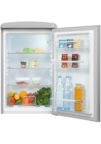 exquisit Kühlschrank »RKS120-V-H-160F«, RKS120-V-H-160F grau, 89,5 cm hoch, 55 cm breit kaufen