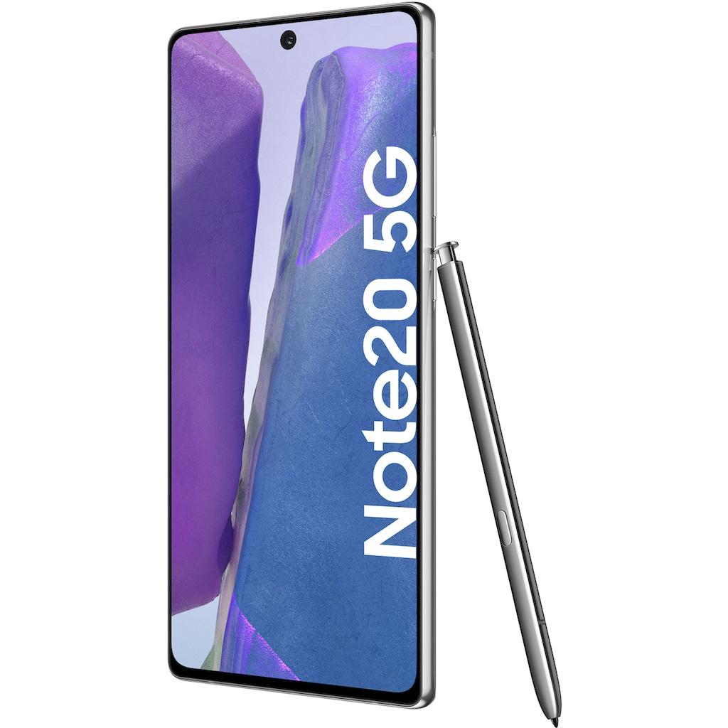 """Samsung Smartphone »Galaxy Note20 5G«, (16,95 cm/6,7 """", 256 GB, 64 MP Kamera), 3 Jahre Garantie"""
