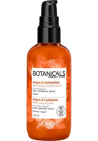 BOTANICALS Haarserum »Argan und Saflorblüte«, reichhaltig kaufen