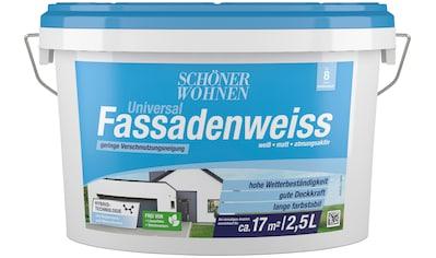 SCHÖNER WOHNEN-Kollektion Fassadenfarbe »Universal-Fassadenweiss«, hoch... kaufen