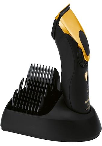 Panasonic Haarschneider »ER-1611 gold«, 3 Aufsätze, Haarschneidemaschine kaufen