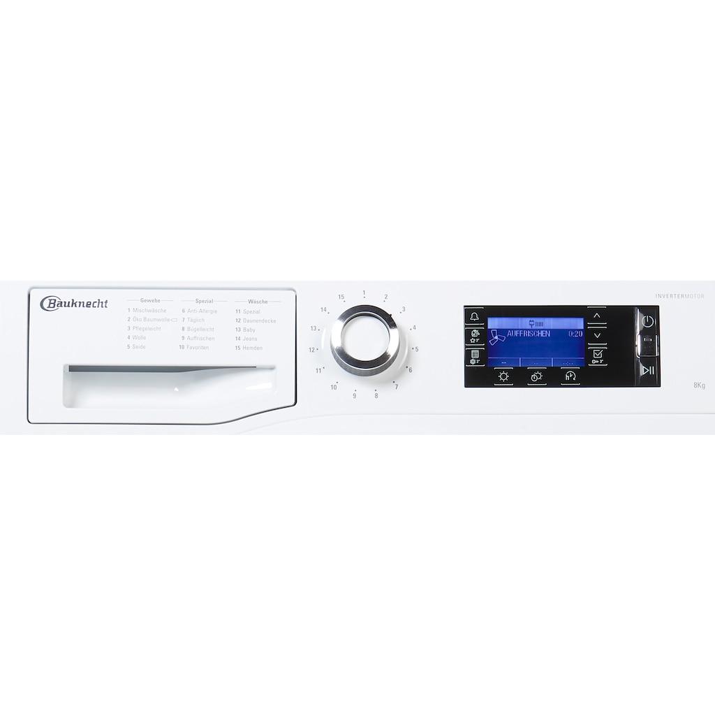 BAUKNECHT Wärmepumpentrockner »T Sense D 8X3E DE«