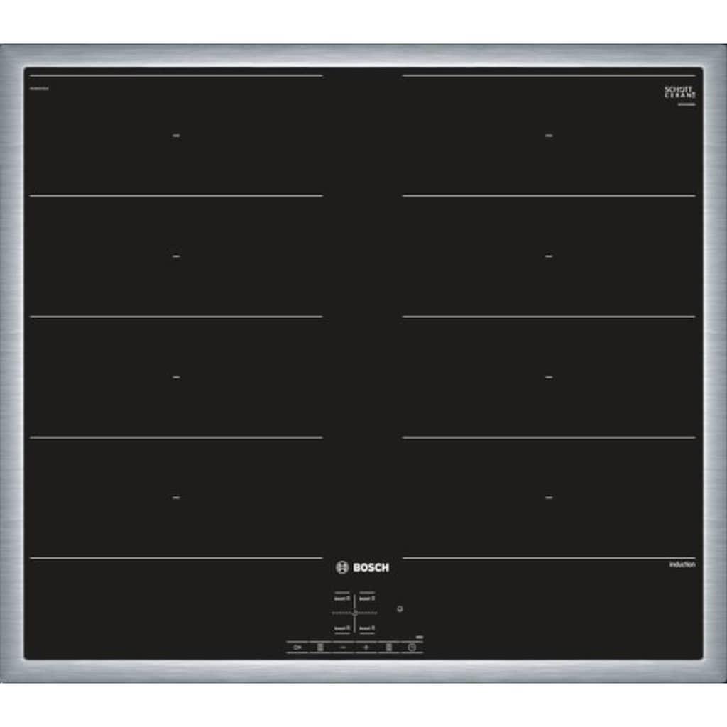 BOSCH Flex-Induktions-Herd-Set »HND679OS60«, Serie 6, HEA578BS1, Pyrolyse-Selbstreinigung, (Set)