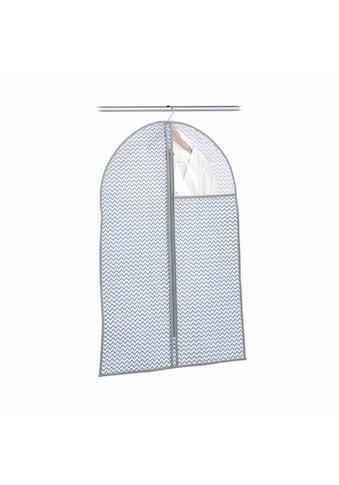 Zeller Present Kleiderschutzhülle, Vlies, weiß/grau kaufen