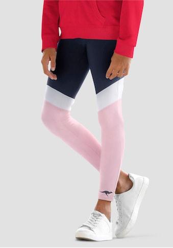 KangaROOS Leggings, mit schönen Kontrasteinsätzen kaufen