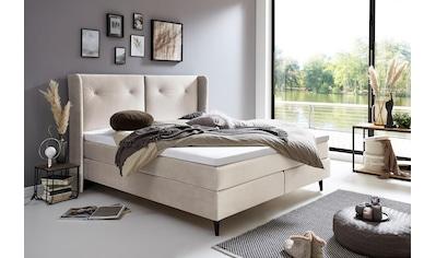 ATLANTIC home collection Boxspringbett, mit Topper kaufen