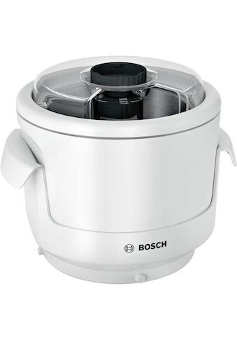 BOSCH Eisbereiteraufsatz MUZ9EB1, Zubehör für alle Bosch OptiMUM Küchenmachinen MUM9 kaufen