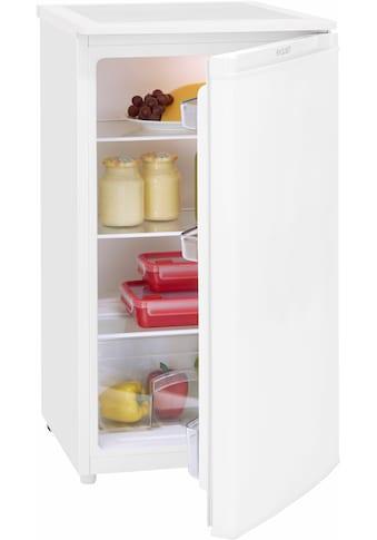 exquisit Table Top Kühlschrank KS 116, 85 cm hoch, 48 cm breit kaufen