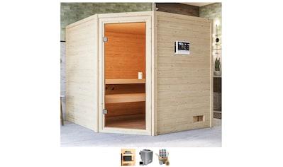 Karibu Sauna »Tami«, 4,5-kW-Bio-Ofen mit ext. Steuerung kaufen