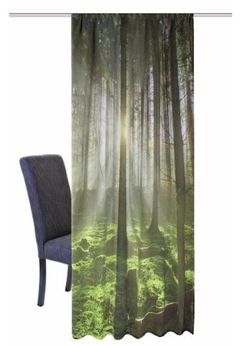 HOME WOHNIDEEN Vorhang »GRÜNER WALD«, HxB: 245x120 kaufen