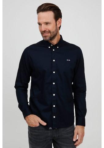 FQ1924 Langarmhemd »Halvar 21900070ME«, Klassisches Hemd mit dezenter Stickerei kaufen