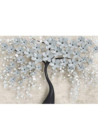 CONSALNET Vliestapete »Baum mit Blütten«, in verschiedenen Größen kaufen